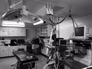 An Operating Room on the Ship