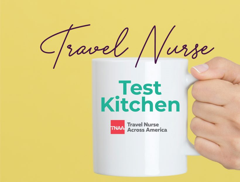 travel nurse kitchen