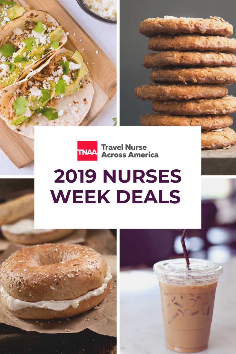 deals for nurses week 2019
