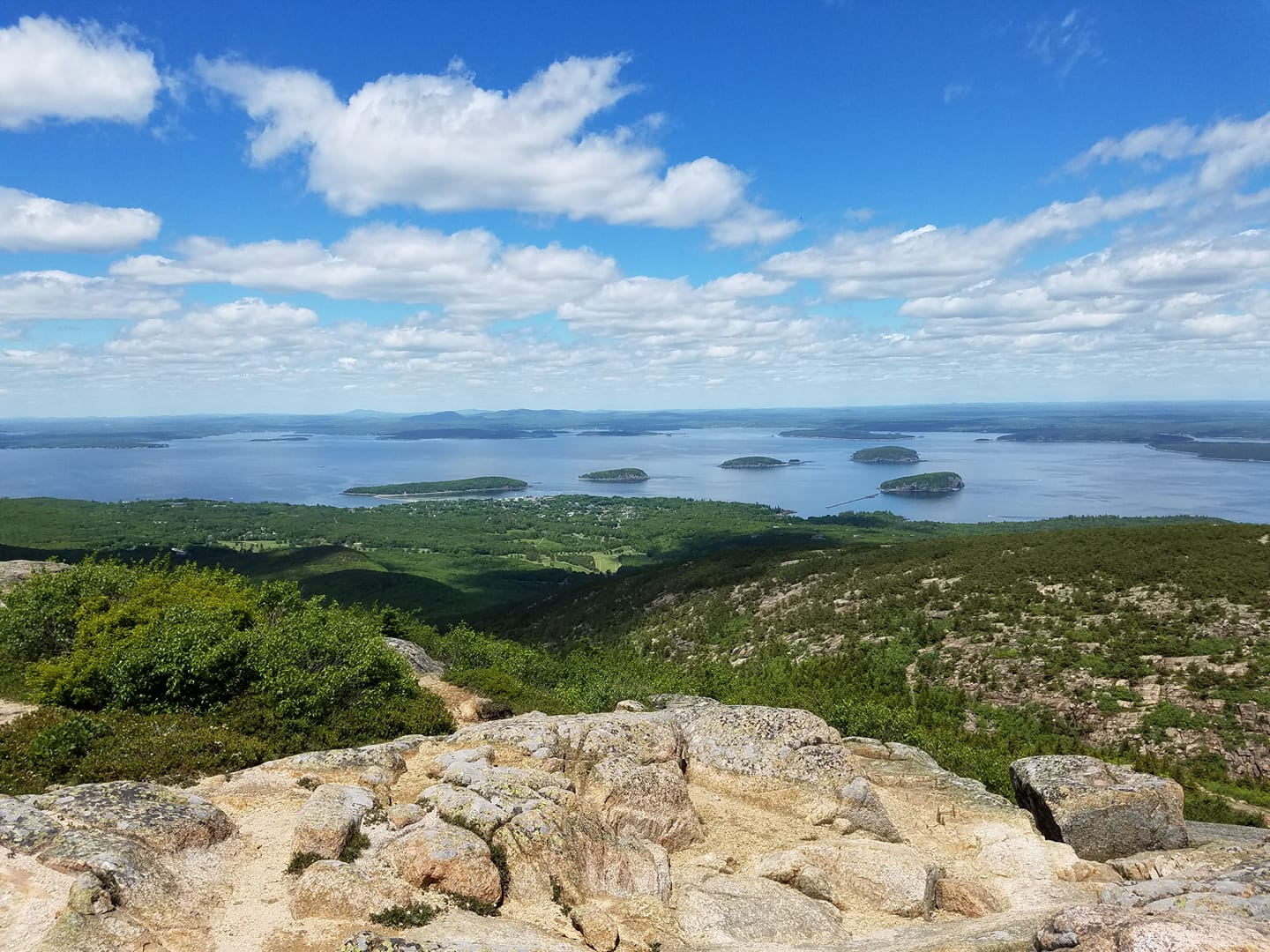 tnaa traveler at Cadillac Mountain