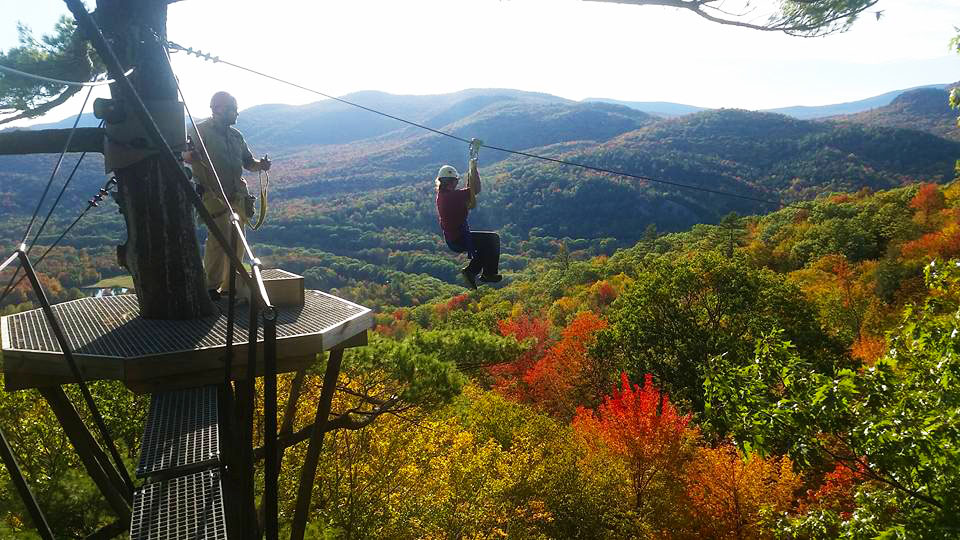 travel nurse zip lining in new hampshire