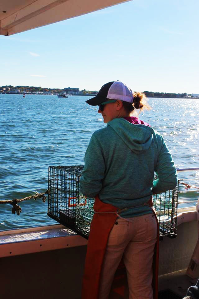 travel nurse goes crabbing in portland, maine