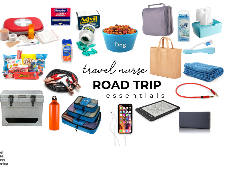 travel nurse road trip essentials