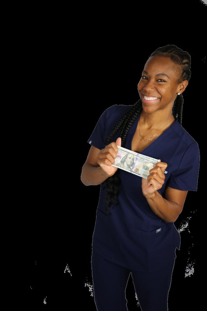 travel nurse money