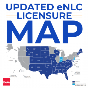 compact state map nurse licensure
